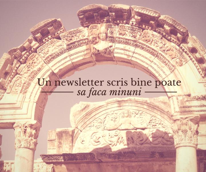 Cum sa beneficiezi de toate avantajele unui newsletter